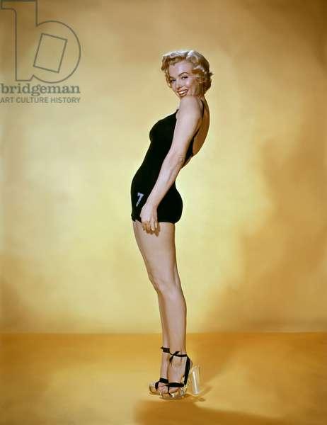 MONKEY BUSINESS, 1952 directed by HOWARD HAWKS Marilyn Monroe (photo)