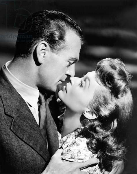 Gary Cooper And Lilli Palmer, Cloak And Dagger 1946 Directed By Fritz Lang