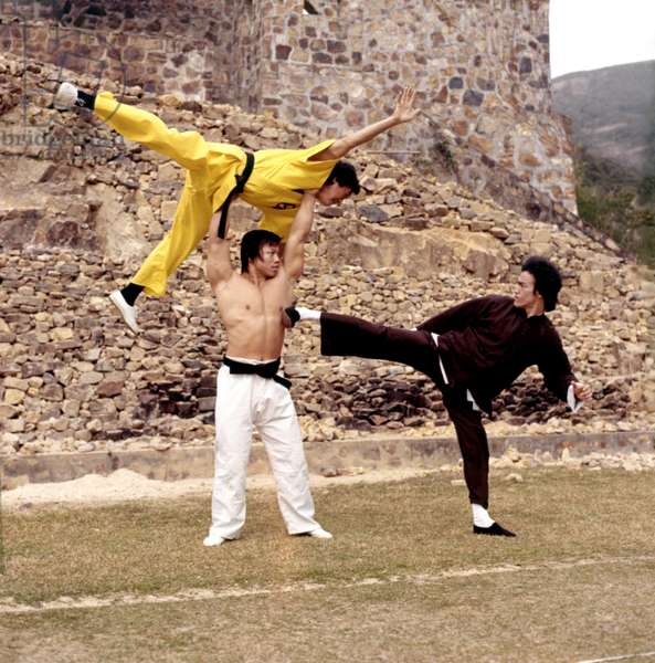 Operation dragon ENTER THE DRAGON by Robert Clouse with Bruce Lee, Bolo Yeung, 1973 (photo)