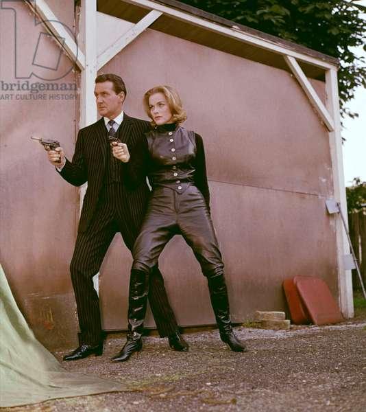 Patrick Macnee And Honor Blackman, The Avengers Tv 1962-1964