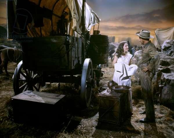Barbara Stanwyck And Ray Milland, California 1946 Directed By John Farrow