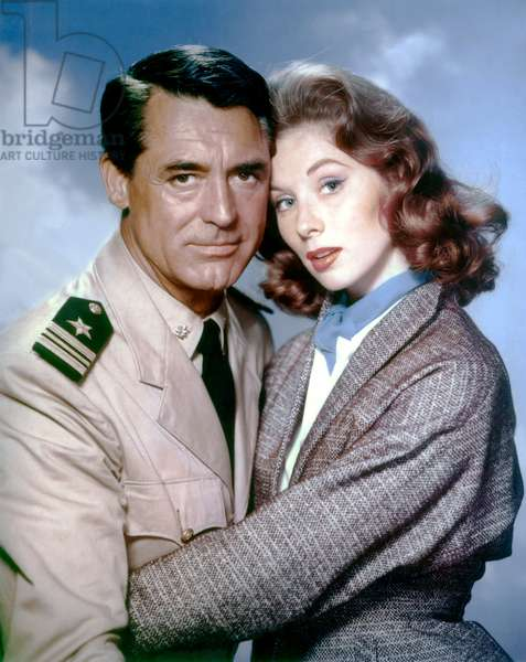 Cary Grant And Suzy Parker
