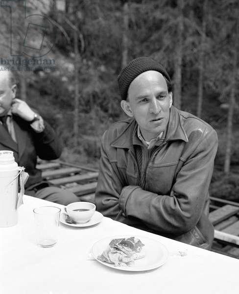 On The Set, Ingmar Bergman (Director).