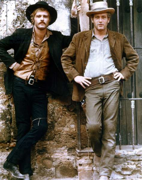 BUTCH CASSIDY AND THE SUNDANCE KID, 1969 directed by GEORGE ROY H Robert Redford / Paul Newman (photo)