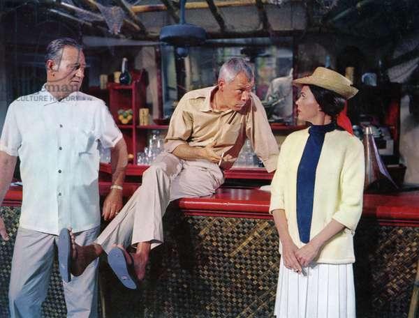 Donovan's Reef - La taverne de l'irlandais 1963 directed by John Ford (photo); Paramount Pictures; John Wayne; Lee Marvin; Elizabeth Allen