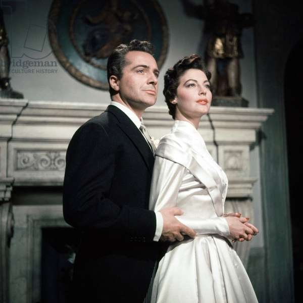 Rossano Brazzi And Ava Gardner.