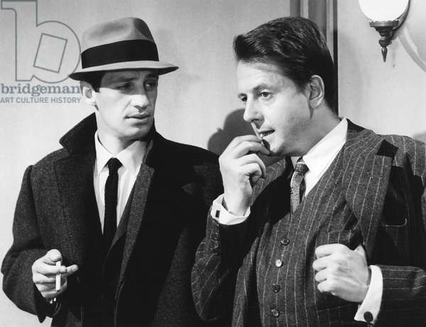 Jean-Paul Belmondo And Jean Desailly, Le Doulos 1963 De Jean Pierre Melville