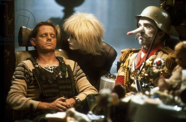 William Sanderson And Daryl Hannah, Blade Runner 1981 Directed By Ridley Scott