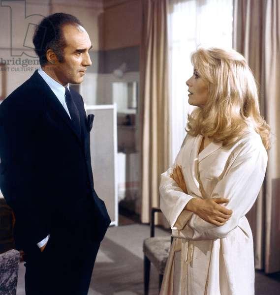 Michel Piccoli And Catherine Deneuve, Belle De Jour 1966 Directed By Luis Bunuel