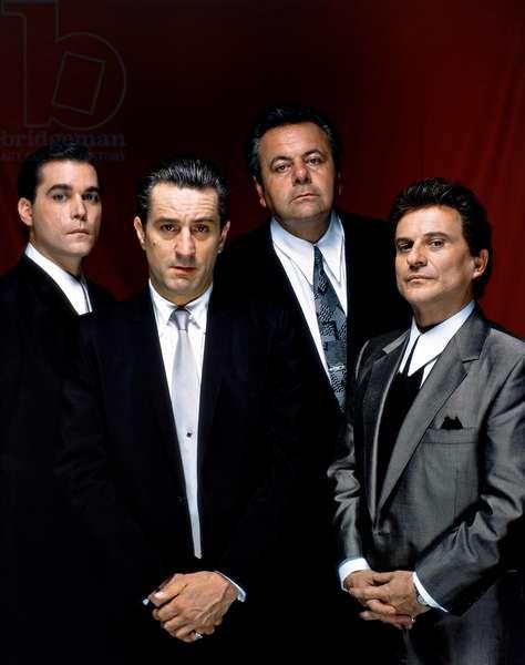 Ray Liotta, Robert De Niro, Paul Sorvino And Joe Pesci.