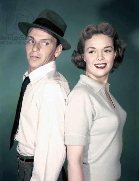 Frank Sinatra And Nancy Gates
