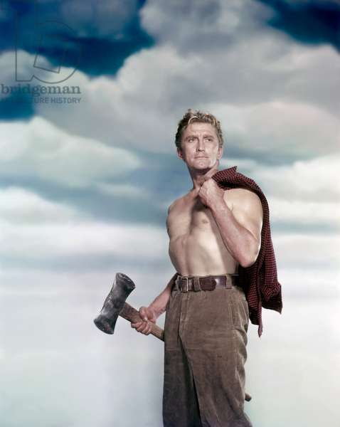 Kirk Douglas, The Big Trees 1952 Directed By Felix Feist