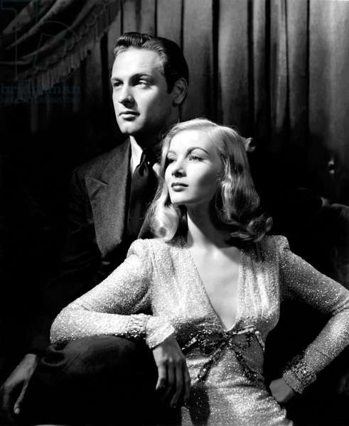 William Holden And Veronica Lake