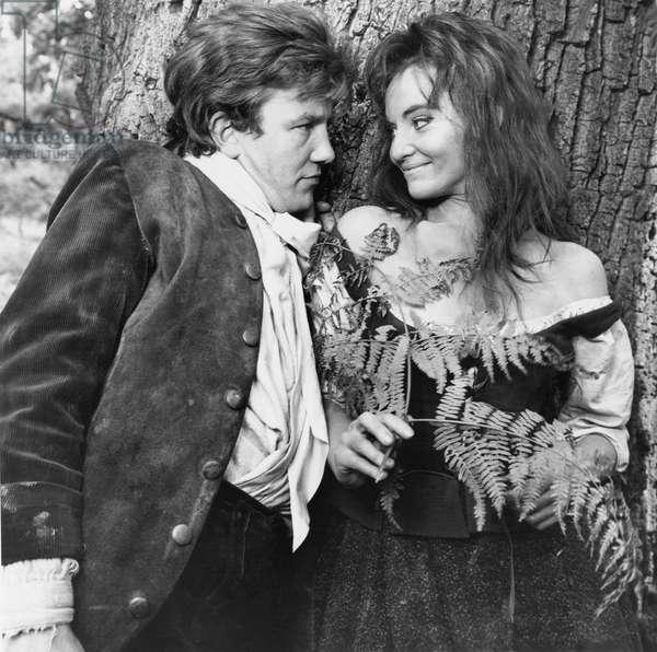 Albert Finney And Diane Cilento, Tom Jones 1963 Directed By Tony Richardson