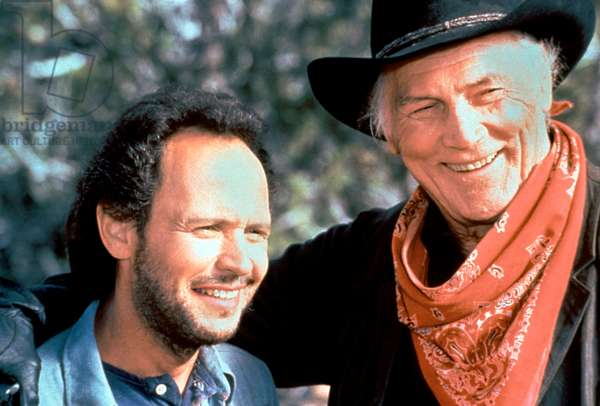 Billy Crystal And Jack Palance, City Slickers 1991 Directed By Ron Underwood