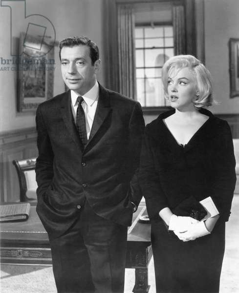 Yves Montand And Marilyn Monroe