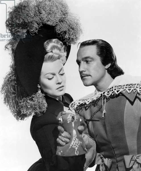 Lana Turner And Gene Kelly, The Three Musketeers 1948 Directed By George Sidney