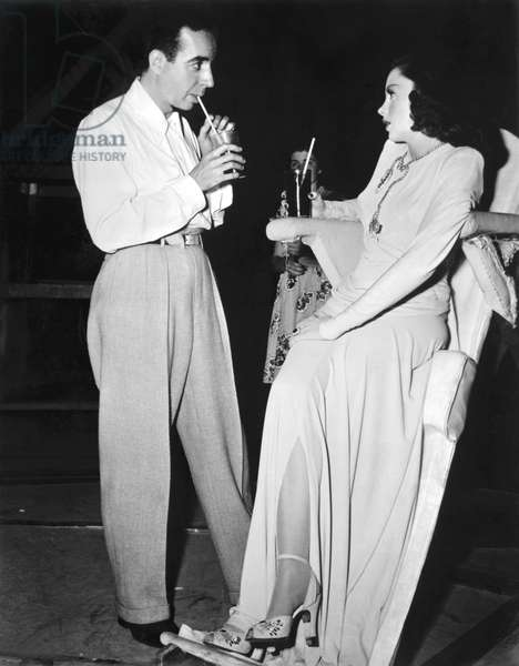 On The Set, Vincente Minnelli (Director) Directs Judy Garland (His Wife), Ziegfeld Follies 1945 Directed By Vincente Minnelli