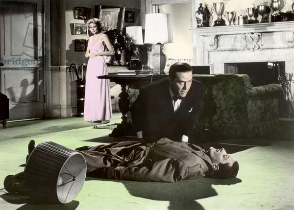 Grace Kelly And Ray Milland, Dial M For Murder 1954 Directed By Alfred Hitchcock