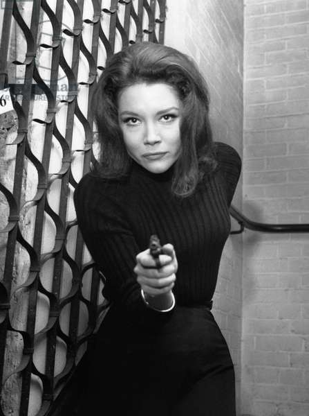 Diana Rigg As Emma Peel In The Television Series 'The Avengers'., The Avengers Tv 1965-1966