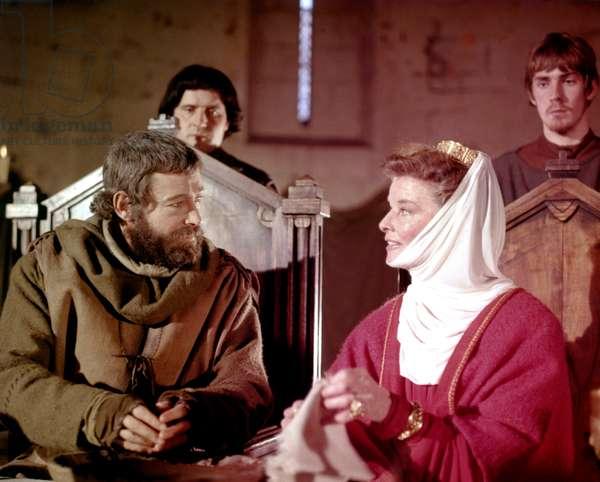 Peter O'Toole And Katharine Hepburn
