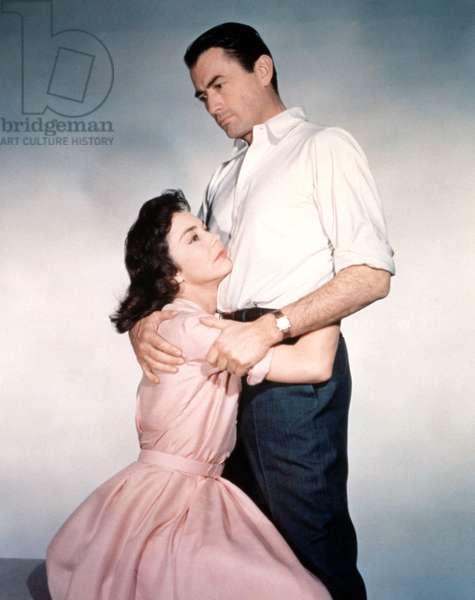 Jennifer Jones; Gregory Peck in The Man in the Grey Flannel Suit 1956