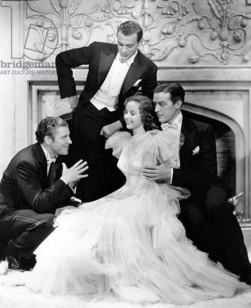 Robert Preston, Gary Cooper, Susan Hayward And Ray Milland., Beau Geste 1938 Directed By William A. Wellman