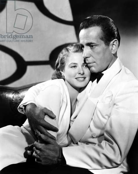 Ingrid Bergman And Humphrey Bogart, Casablanca 1943 Directed By Michael Curtiz