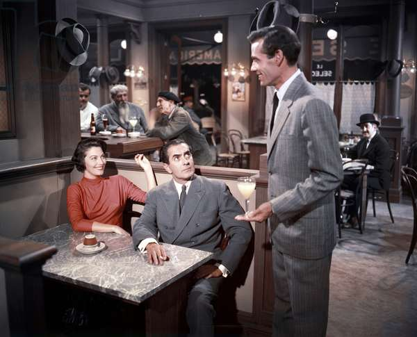 Ava Gardner, Tyrone Power And Mel Ferrer, The Sun Also Rises 1957 Directed By Henry King