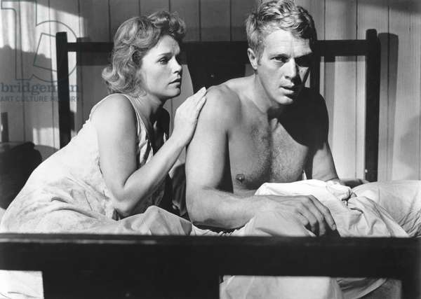 Lee Remick And Steve Mcqueen, Baby The Rain Must Fall 1964 Directed By Robert Mulligan
