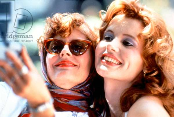 Susan Sarandon And Geena Davis, Thelma And Louise 1991 Directed By Ridley Scott