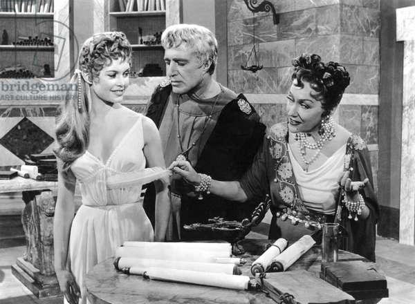 Brigitte Bardot, Vittorio De Sica And Gloria Swanson, Mio Figlio Nerone / Les Week-Endd De Neron 1956Directed By Steno
