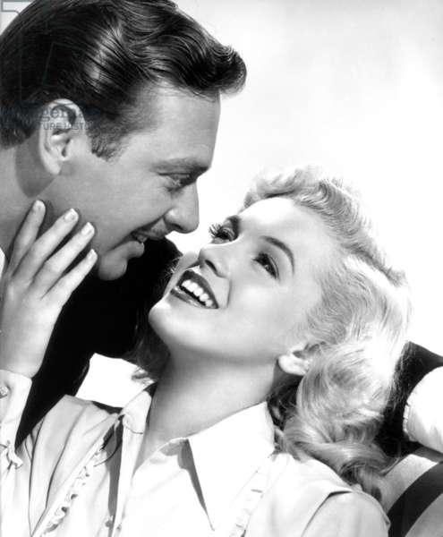 Rand Brooks And Marilyn Monroe