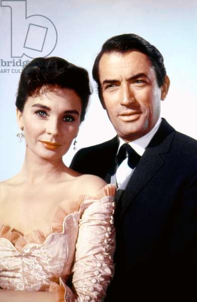 Jean Simmons And Gregory Peck, The Big Country 1958 Directed By William Wyler