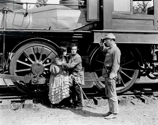 Marion Mack And Buster Keaton