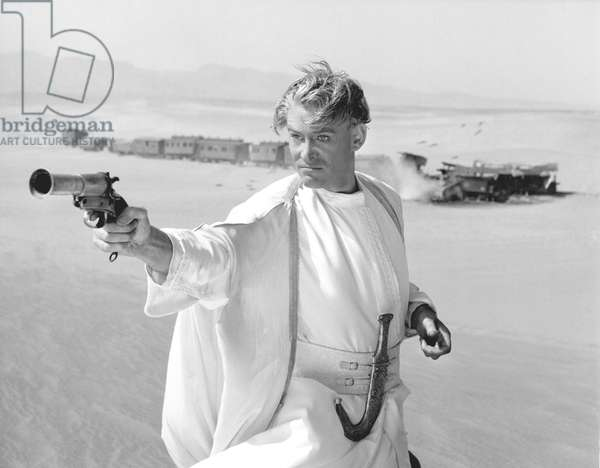 Peter O'Toole Was Nominated In The Best Actor Category For His Role Of T.E. Lawrence.