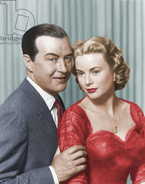Ray Milland And Grace Kelly, Dial M For Murder 1954 Directed By Alfred Hitchcock