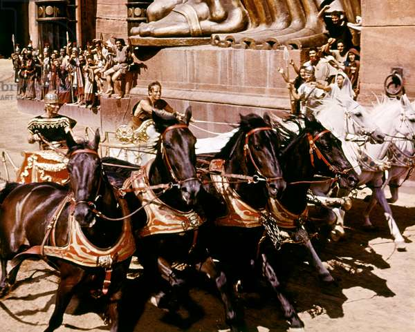 Stephen Boyd And Charlton Heston, Ben-Hur 1959 Directed By William Wyler