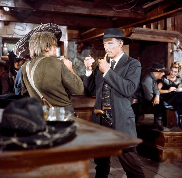 Klaus Kinski And Lee Van Cleef, Per Qualche Dollari In Piu / A Few Dollars More 1965 Directed By