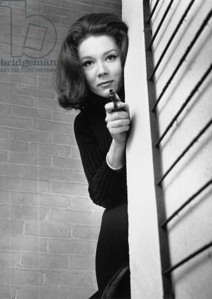 Diana Rigg As Emma Peel In The Television Series 'The Avengers'.  , The Avengers 1965-1966