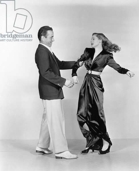 Humphrey Bogart And Lauren Bacall, To Have And Have Not 1944 Directed By Howard Hawks