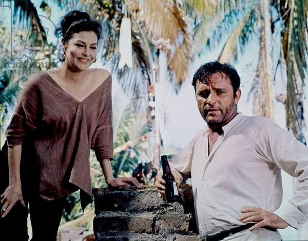 Ava Gardner And Richard Burton