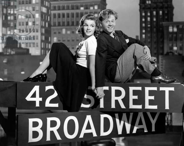 Judy Garland And Mickey Rooney, Babes On Broadway 1941 Directed By Busby Berkeley