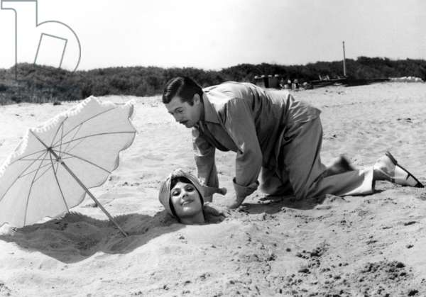 Daniela Rocca And Marcello Mastroianni, Divorce A L'Italienne 1961 Directed By Pietro Germi