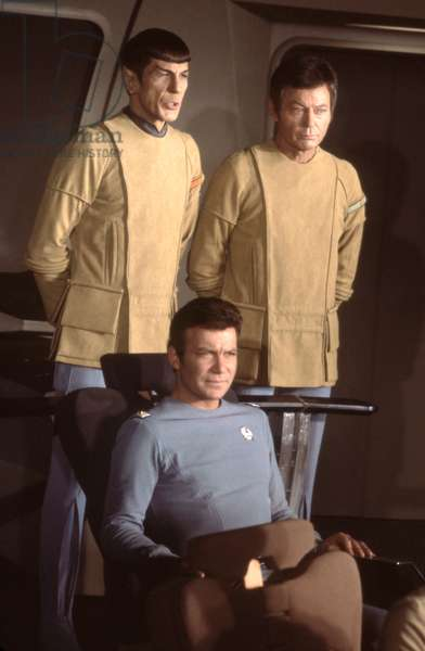 William Shatner, Deforest Kelley And Leonard Nimoy