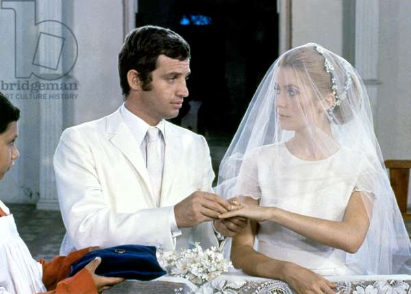 Jean-Paul Belmondo and Catherine Deneuve dans  La Sirene du mississipi de FrancoisTruffaut 1969