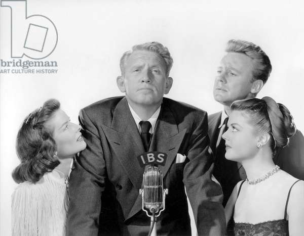 Katharine Hepburn, Spencer Tracy, Van Johnson And Angela Lansbury.