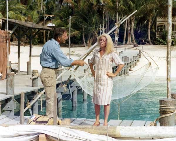 Yves Montand And Catherine Deneuve