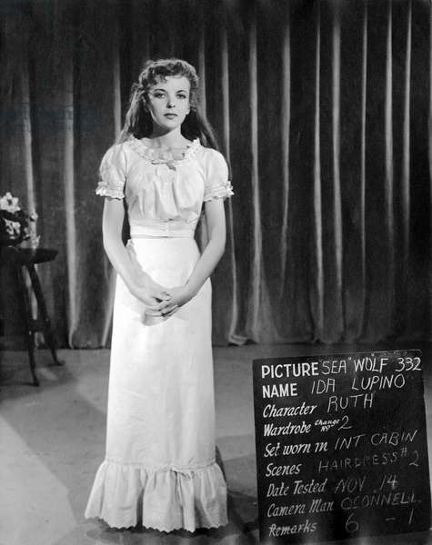 On The Set, Ida Lupino (Wardrobe).