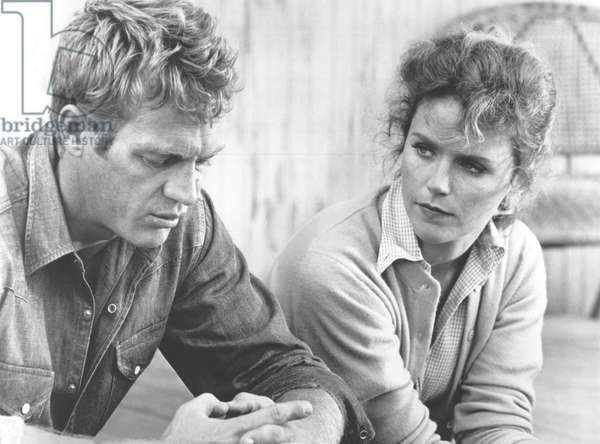 Steve Mcqueen And Lee Remick, Baby The Rain Must Fall 1964 Directed By Robert Mulligan